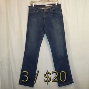 3/$20 DKNY Chelsea Straight Jeans 8R 8 (X 32) Blue